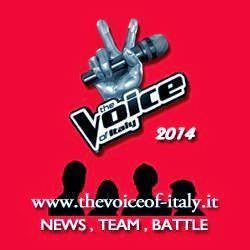 The Voice Of Italy 2014 -Sito Social- Team Piero Pelù, Raffaella Carrà, J-ax, Noemi