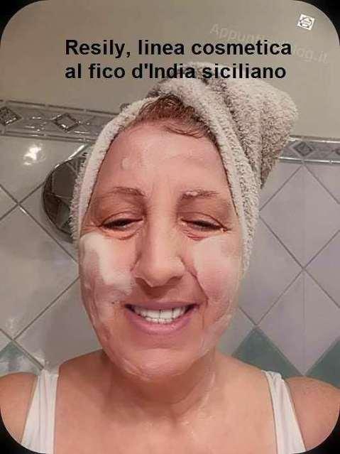 Resily, linea cosmetica al fico d'India siciliano