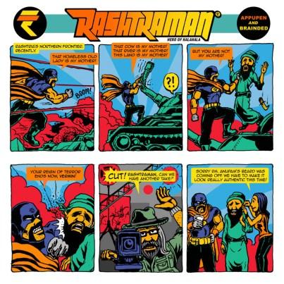 Action hero Rashtraman! April 2016.