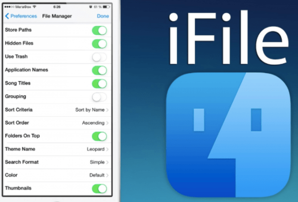 iFile Download on iOS Without Jailbreak