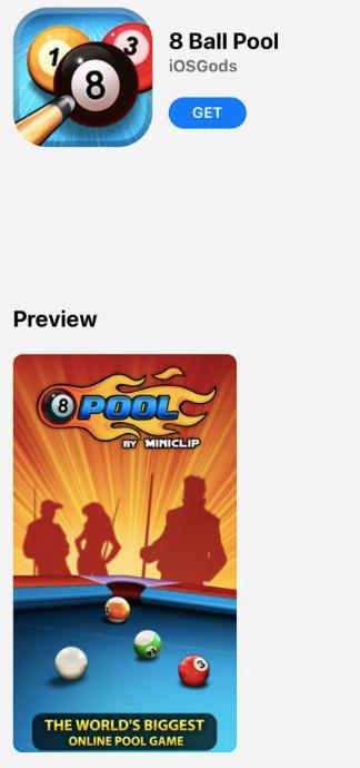 8 Ball Pool Hack on iPhone/iPad - AppValley