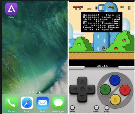 delta emulator appvalley install on iOS