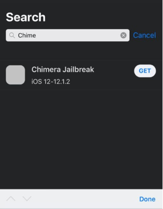 Chimera Jailbreak - iOS 12 - 12 1 2 [iPhone XS, XS Max & XR