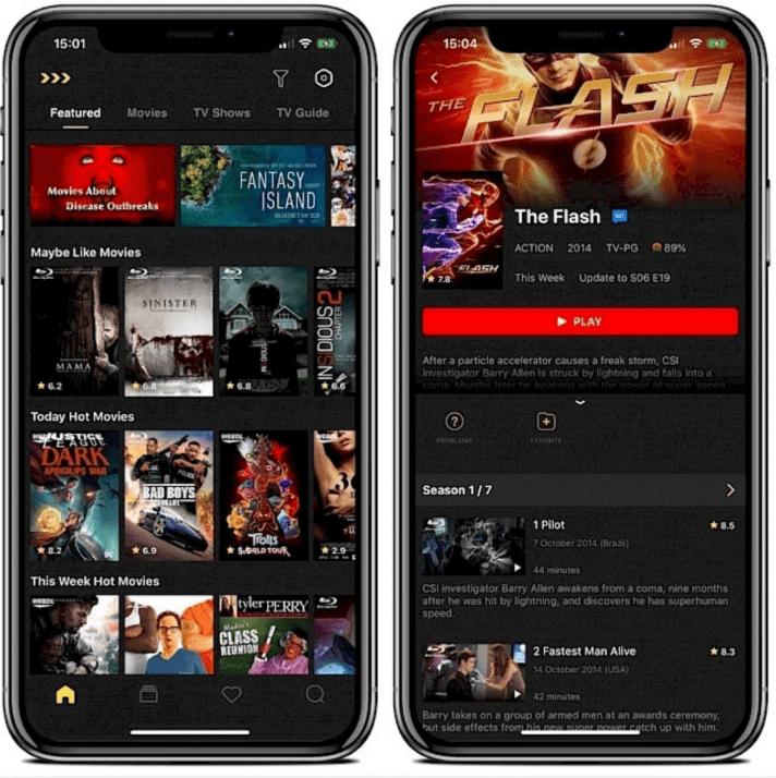 MovieBox App Download on iOS