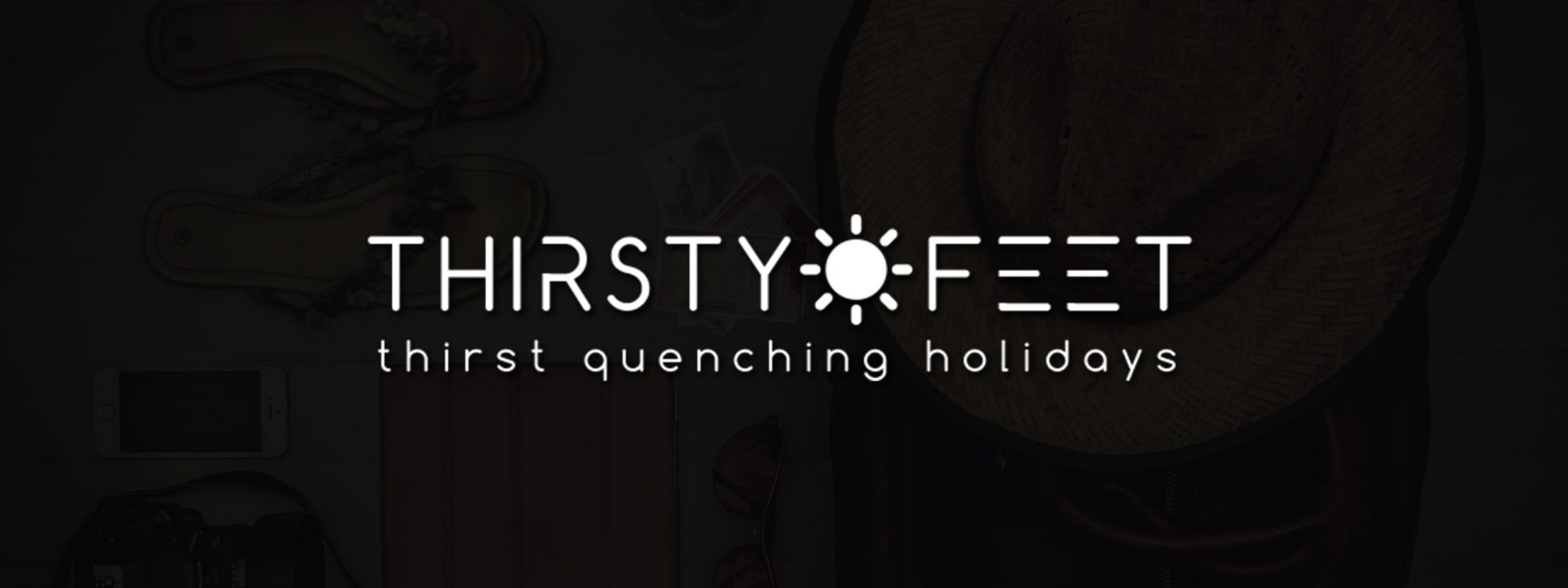thirsty feet web portal design
