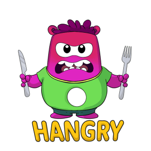 Appie Stickers Hangry