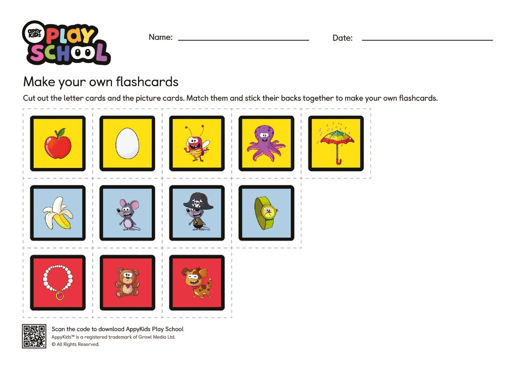 thumbnail of Download Play School Flashcards