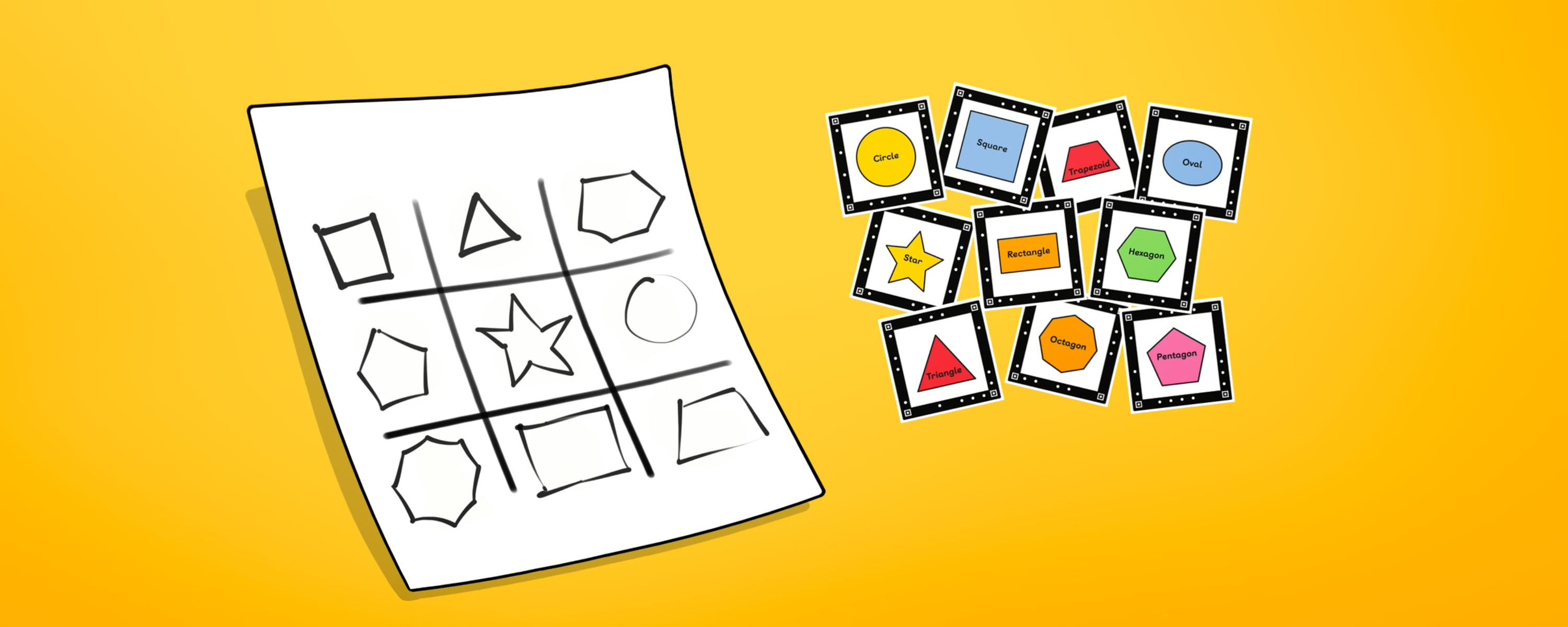 Tic Tac Toe Identifying Shapes Appykids
