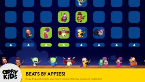 Preschool iPad app of Games for Kids ToyBox Beats Screenshot