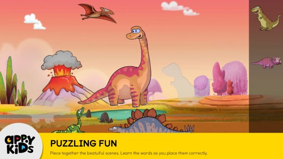 Preschool iPad app of Games for Kids Puzzling Fun screenshot