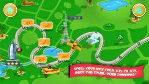 Screenshot Zees Word Map Overview