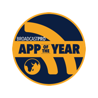 Award Broadcast pro app of the year