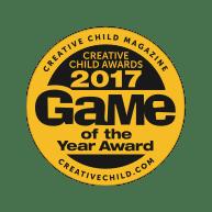 Award Creative Child Game of the Year Badge