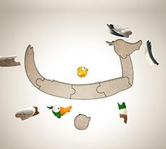 Blurb Zeealif Duck Puzzle