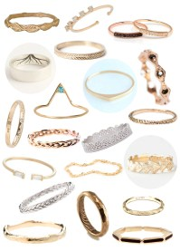 30 Non-Traditional Wedding Rings Under $500