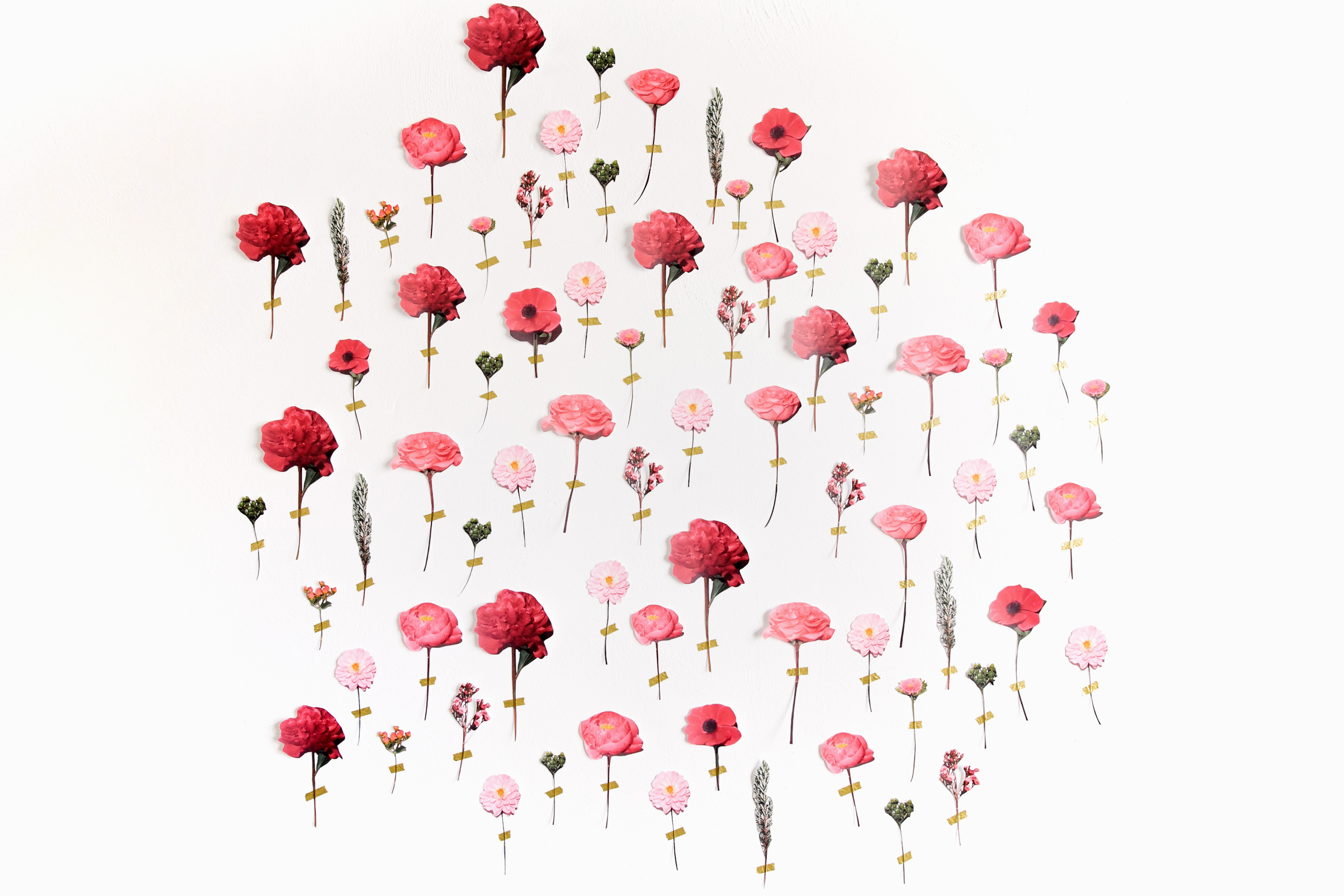 How To 20 DIY Paper Flower Wedding Backdrop  A