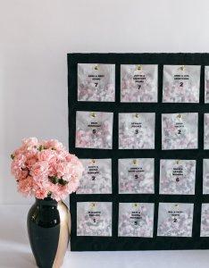 How to diy  confetti bag seating chart also practical wedding rh apracticalwedding