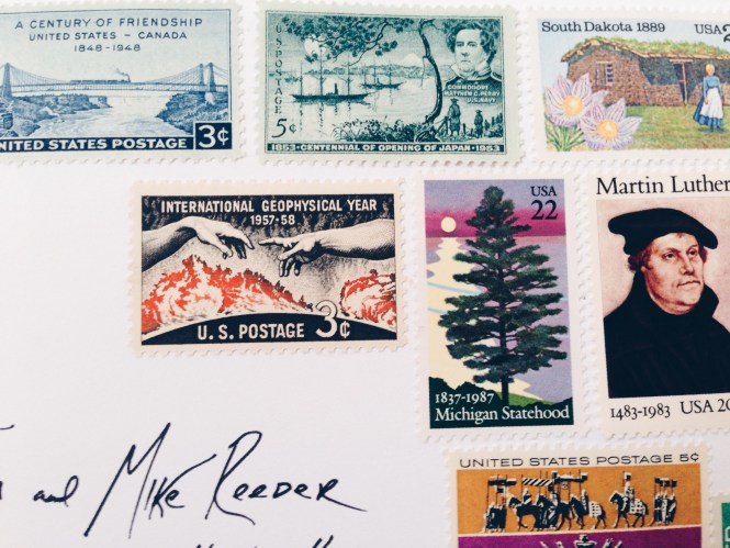 Ebay Vintage Stamps For My Wedding Invitations A Practical