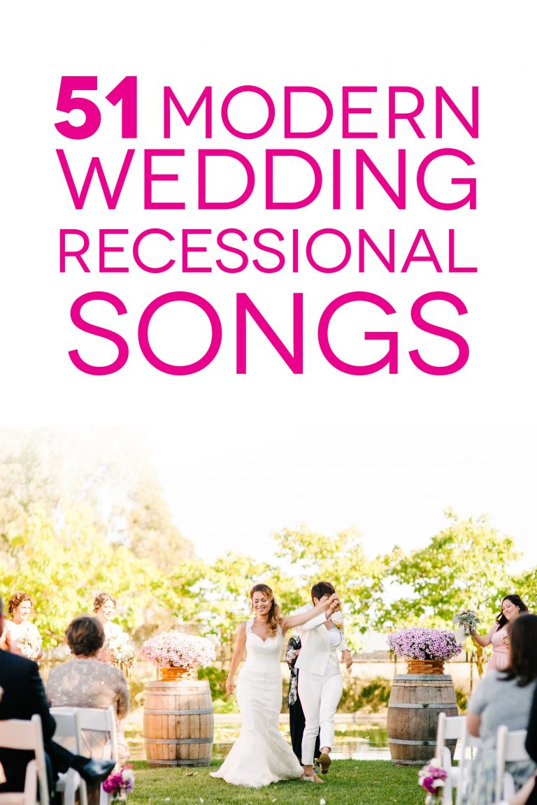 wedding recessional songs to