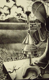 Unity of Yesteryear, 1988; Lithograph; Image: 26 x 19 1/4 inches