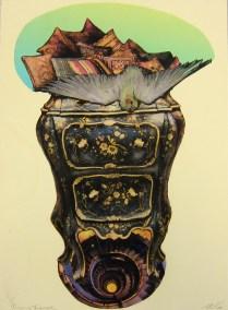 Tiegaus Triumph; Photo etching on copper, digital transfer; Image: 15 x 11