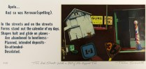 The 3rd Street- With a Bit of Mr. Hopper Too, 1975; Screen print; Image: 5 1/2 x 14 inches