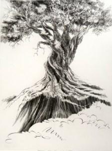 Survivor, 1992; Engraving; Image: 451 mm x 591 mm