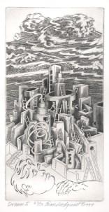 Dream I, 1994; Engraving; Image: 451 mm x 591 mm