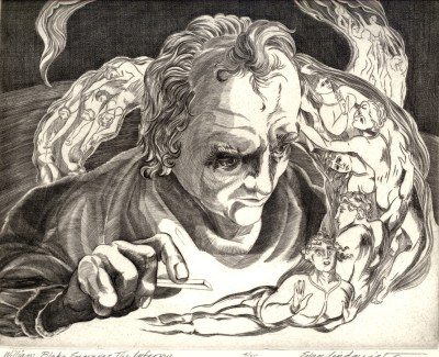 William Blake Engraves the Inferno, 2010; Engraving; Image: 451 mm x 591 mm