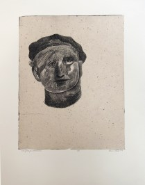 Maurice, 2009; Intaglio, chine colle; Image: 502 x 395 Maurice could hardly wait to escape his abusive father. One day, without telling his mother he failed to show up for lunch.