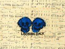 Looking Back, 2001; Lithograph, etching; Image size: 562 x 763 mm