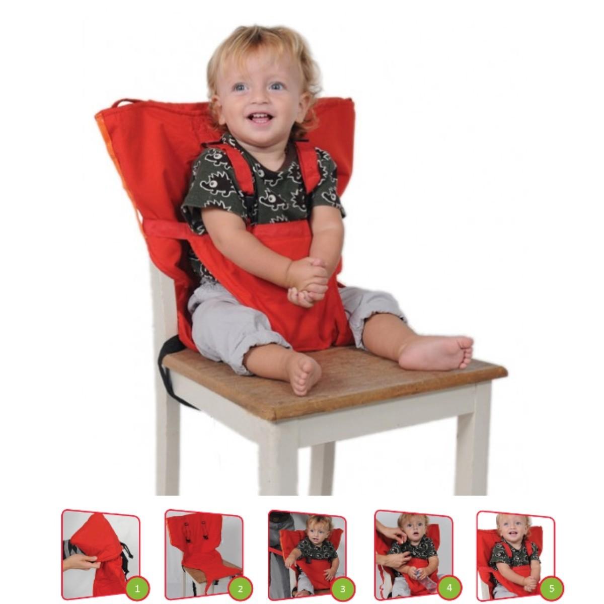 Silla Porttil Para Bebs y nios de 1 a 5aos  Bolso
