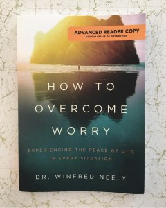 How to Overcome Worry Book Review   Aprel's Thoughts and Reviews