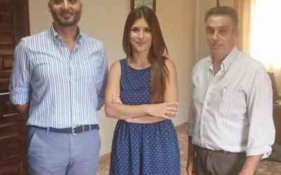 El Ayuntamiento de Campofrío firma acuerdo para dinamizar la creación de empleo en la localidad