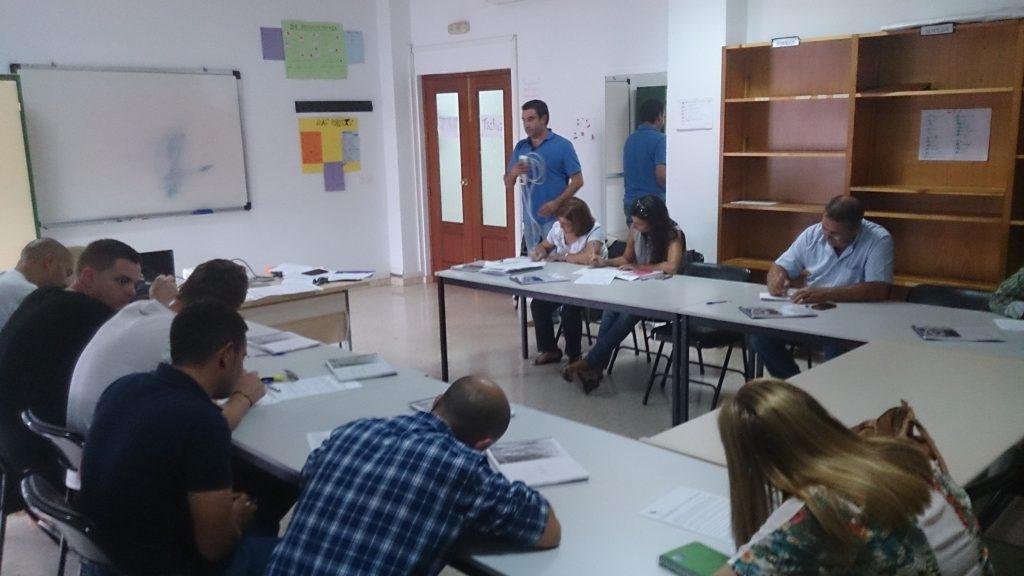 Inicio del curso de Fitosanitarios Cualificado en San Bartolome