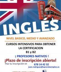 Comienzo del curso de Inglés para obtener el B1
