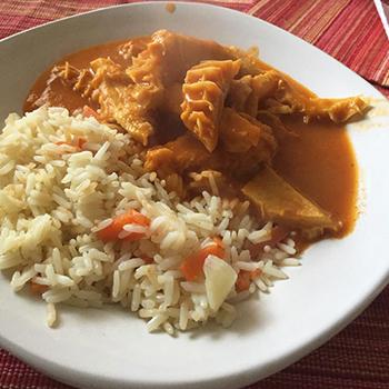 Comida Guatemalteca Panza En Amarillo