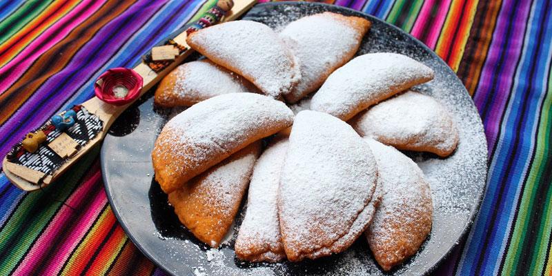 Receta para hacer empanadas de manjar guatemaltecas