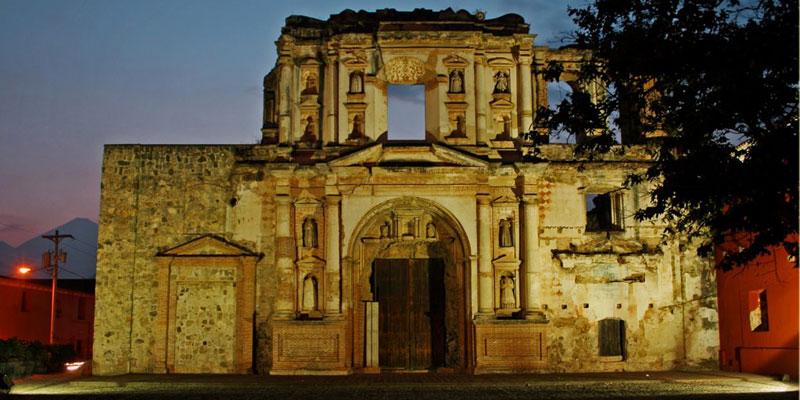 Ruinas de la Iglesia de la Compaa de Jess en La Antigua Guatemala  Aprende Guatemalacom