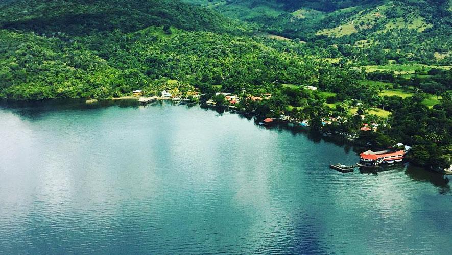 Lago de Izabal en Guatemala  Aprende Guatemalacom