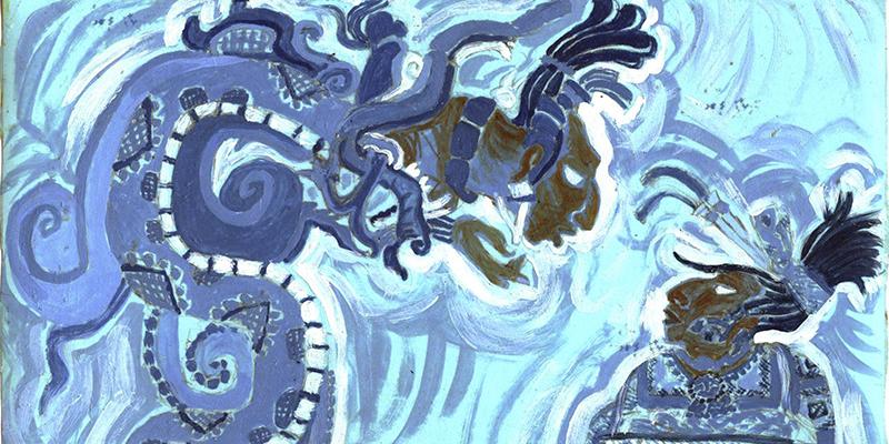 La serpiente emplumada dragn de los mayas en Guatemala  Aprende Guatemalacom