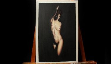 07- cuerpo de mujer al oleo
