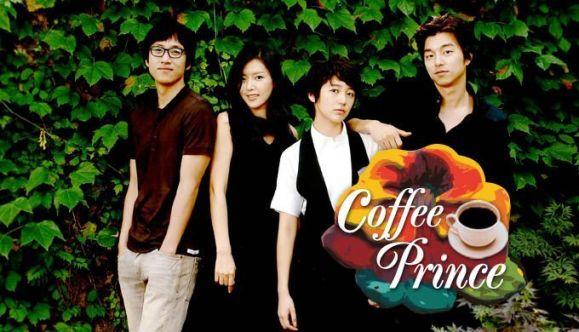 Cartel de la serie coreana del principe del cafe