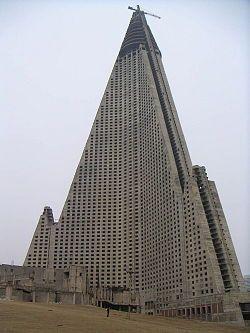 esqueleto del Hotel Ryugyong