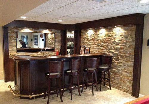 living room theater drink menu tropical decorating ideas ideas-para-diseno-de-bar-en-casa-18   decoracion interiores