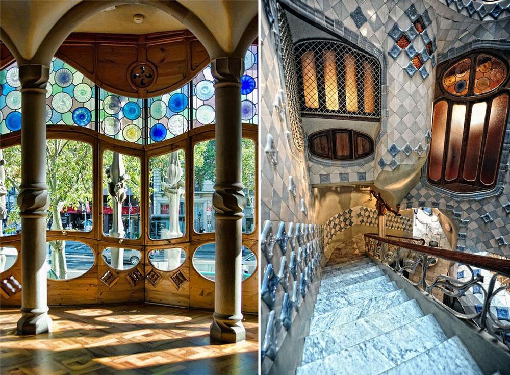 estilo nouveau del siglo xix 2  Decoracion Interiores