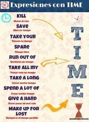 expresiones con time