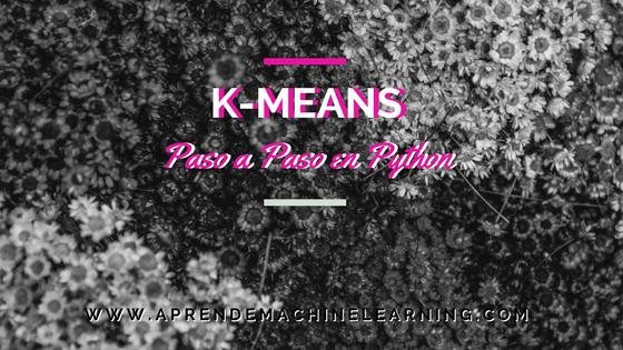 K-Means en Python paso a paso
