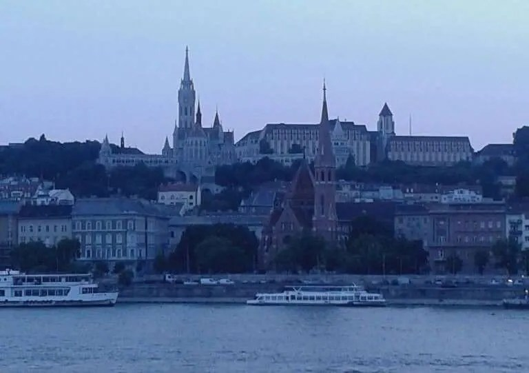 buda and the danube river