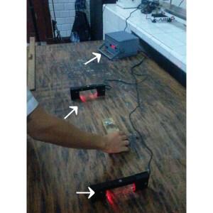 Cronômetro e sensores